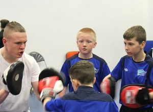 Keiran On The Pads