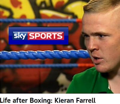 Kieran on Sky Sports